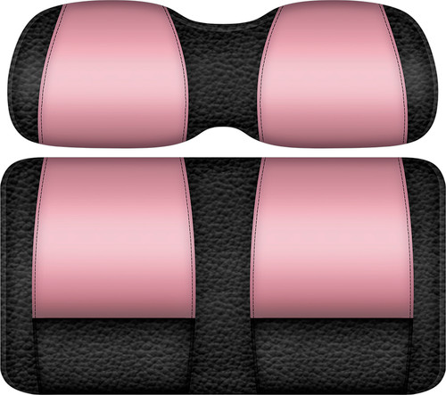 Veranda Edition Golf Cart Seat Black-Pink