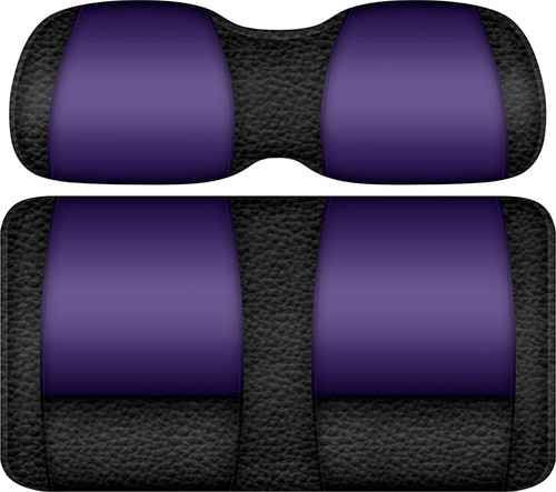 Veranda Edition Golf Cart Seat Black-Purple