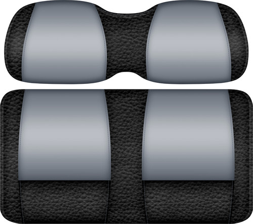 Veranda Edition Golf Cart Seat Black-Silver