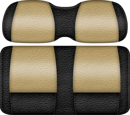 Veranda Edition Golf Cart Seat Black-Sand