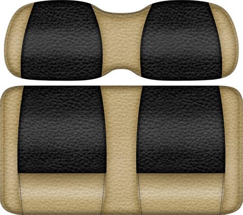Veranda Edition Golf Cart Seat Sand-Black