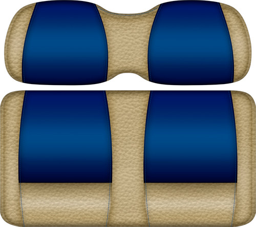 Veranda Edition Golf Cart Seat Sand-Blue