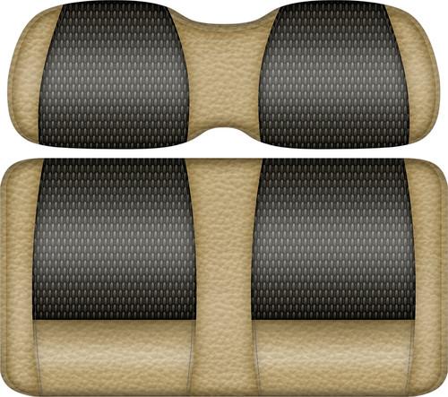 Veranda Edition Golf Cart Seat Sand-Graphite