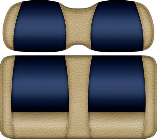 Veranda Edition Golf Cart Seat Sand-Navy