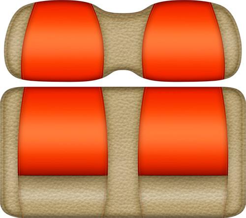 Veranda Edition Golf Cart Seat Sand-Orange