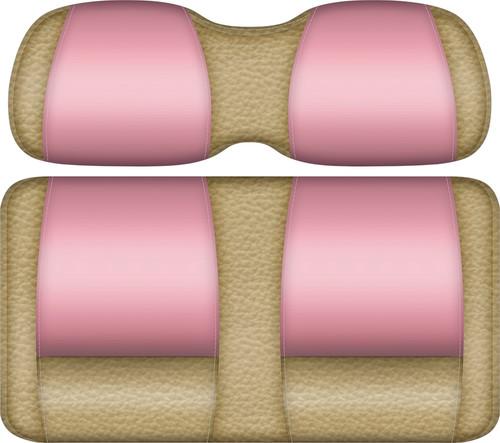 Veranda Edition Golf Cart Seat Sand-Pink