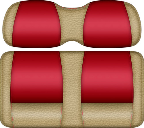Veranda Edition Golf Cart Seat Sand-Red