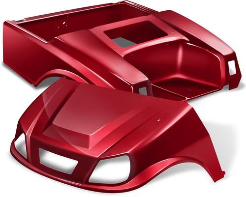 NEW Club Car DS Spartan Body in Ruby