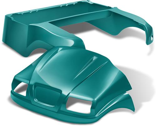 Doubletake Phantom Golf Cart Body Kit for Club Car Precedent in Teal