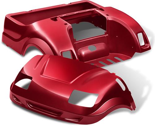 Yamaha Drive Vortex Body Kit in Ruby