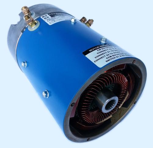 D&D Motor EZ-GO ES-107 Type 8 Brush Torque Speed
