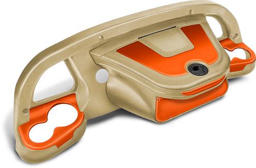 DoubleTake Sentry Dashboard Sand-Orange