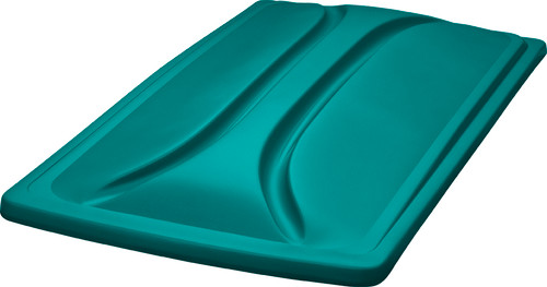 """DoubleTake 80"""" Long Track Color Matched Top Teal"""