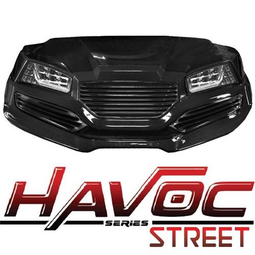 Yamaha Drive (07-16) Havoc Black Street Cowl