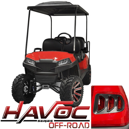 Yamaha G29/Drive HAVOC Off-Road Body Kit in Red (Fits 2007-2016)