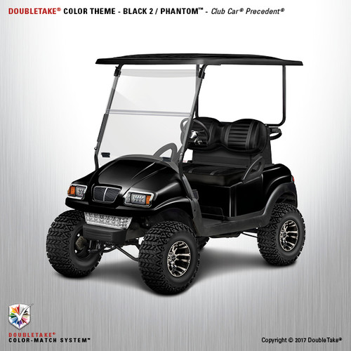 Doubletake Club Car Precedent Factory Style Deluxe Two Seat Golf Cart Upgrade Kit