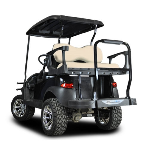 Madjax Genesis 250 Steel Rear Flip Seat for the Club Car DS