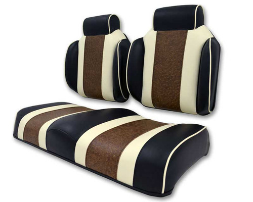 Lazy Life Premium Contour Three Tone Seat with Dual High Backs and Headrest