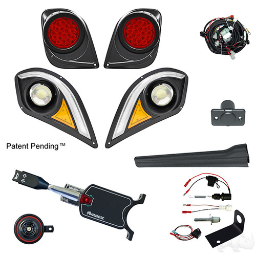 RHOX Deluxe LED Light Kit w/ RGBW LED Running Light, Yamaha Drive2