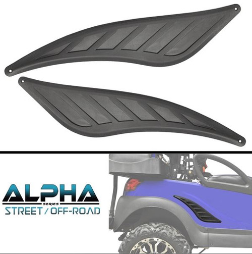 Alpha Series Rear Trim Accent Kit