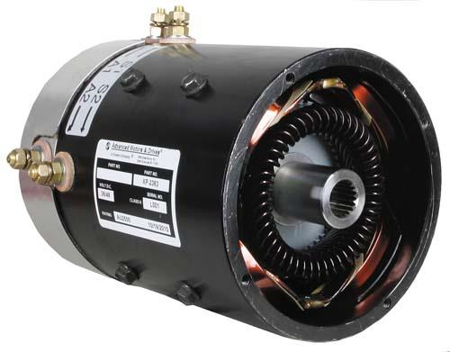 36 Volt 8HP 19-Spline Speed Motor (Fits Select E-Z-GO and Yamaha Models)