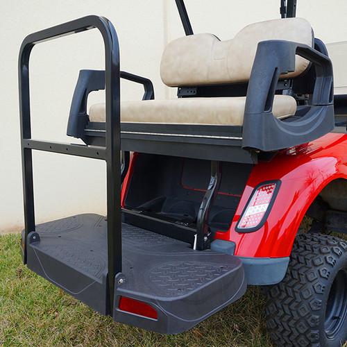 RHOX Rhino 500 Series Deluxe Rear Seat Assembly EZ-GO RXV Stone Beige