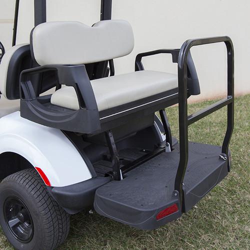 RHOX Rhino 500 Series Deluxe Rear Seat Assembly EZ-GO Yamaha Drive2 Stone