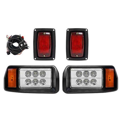 RHOX LED OEM  Factory Style Light Kit, Black, Club Car DS 93+