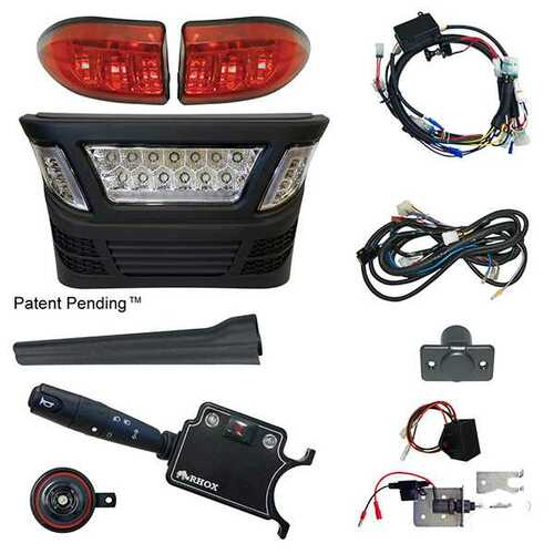 RHOX Light Bar for Club Car Precedent with Daytime Running Lights 08+ includes bucket harness
