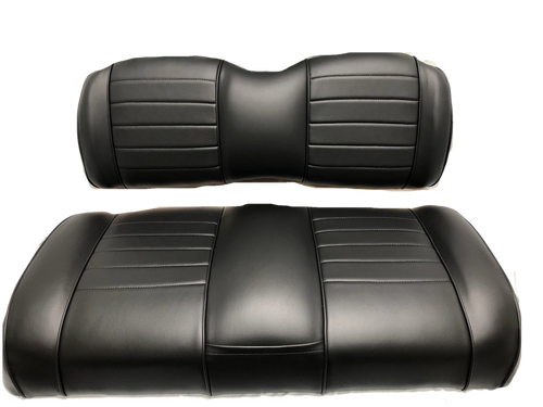 Luxury Exclusive One Tone Benchback with Pleats