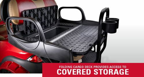 Doubletake MAX 6 CRUZ Deluxe Golf Cart Rear Seat Factory Color Cushion Set Safety Bar Not yet Available