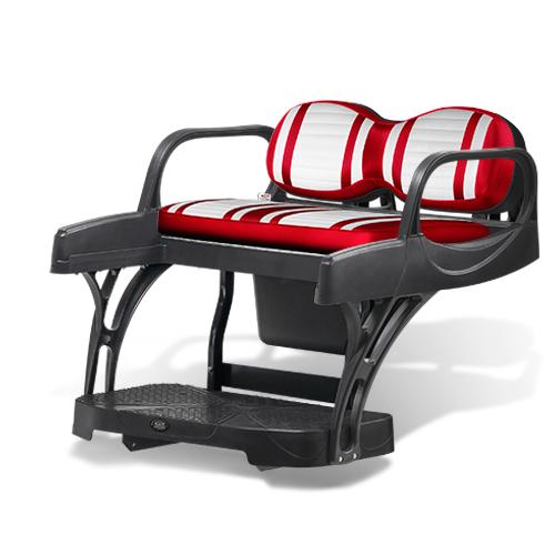 Doubletake MAX 6 CRUZ Deluxe Golf Cart Rear Seat Extreme Deluxe Series Cushion Set
