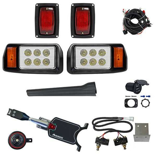 Club Car DS 93+ LED Deluxe Light Kit Factory OEM Cutouts