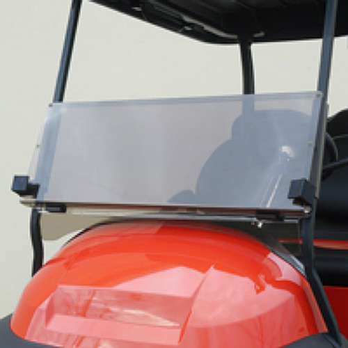 Windshield, Heavy Duty Impact Resistant Tinted 2 Piece, Yamaha Drive2