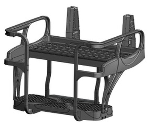 Doubletake MAX 6 HELIX Deluxe Golf Cart Rear Seat FRAME ONLY NO CUSHION SET
