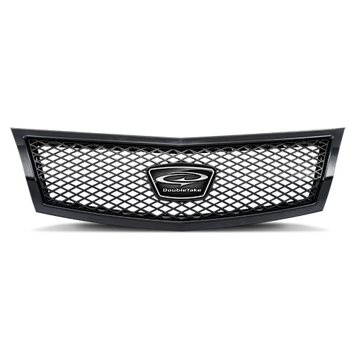 Diamond Mesh Grill Black-Black