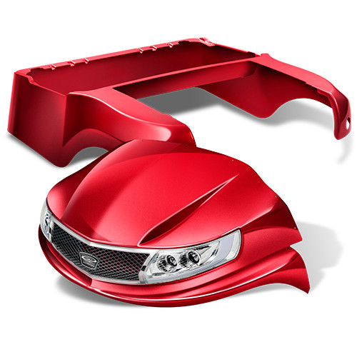 Doubletake Phoenix Body Kit for Club Car Precedent in Ruby
