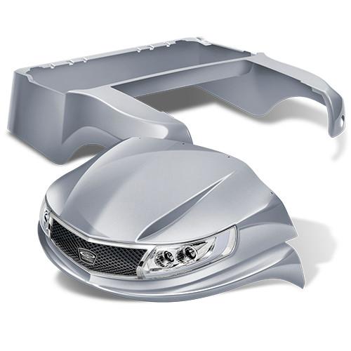 Doubletake Phoenix Body Kit for Club Car Precedent in Metallic Silver