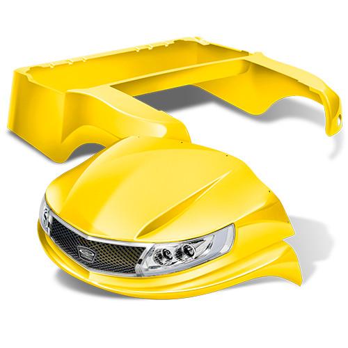Doubletake Phoenix Body Kit for Club Car Precedent in Yellow