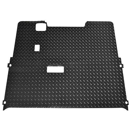 Diamond Plate Floor Mat for EZGO TXT 01.5+