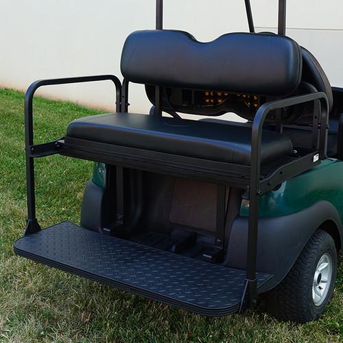 RHOX Rhino Aluminum Seat Kit, Black, Club Car Tempo, Precedent 04+