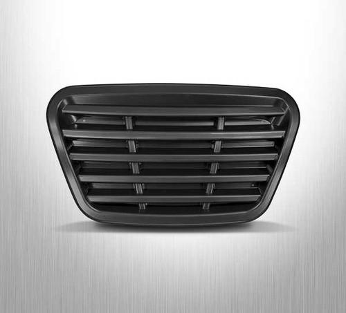 DoubleTake Phantom Golf Cart Body Front Grill - CHROME (Black Shown)