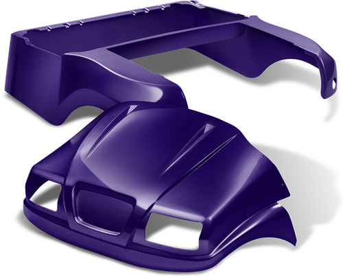 DoubleTake Phantom Golf Cart Body Front COWL ONLY Precedent Purple