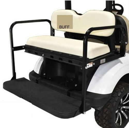 GTW MACH3 Rear Flip Seat for Club Car Precedent - Buff