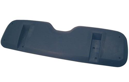 Seat Back Shell, Black Plastic, E-Z-Go TXT 94-13