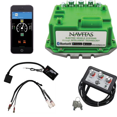 Controller, Navitas TSX 3.0 440A 36-48V w/ Bluetooth Yamaha G14, G16