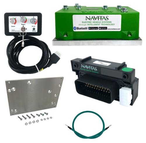 AC Controller Package, Navitas 440A, E-Z-Go RXV w/ Curtis Controller