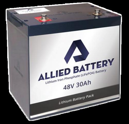 Individual 48V 30 Amp Lithium Battery
