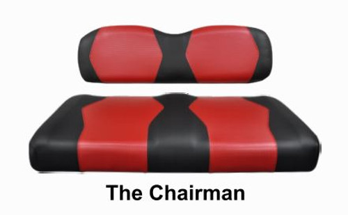 The Chairman Two Tone Seat Cover Set