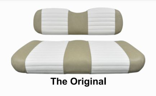The Original Two Tone Golf Cart Seat Cover Set